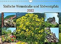 Suedliche Weinstrasse und Suedwestpfalz (Wandkalender 2022 DIN A4 quer): Die beiden Landkreise im Sueden von Rheinland-Pfalz begeistern mit Waeldern, Bergen, Burgen und schoenen Staedten mit Fachwerkhaeusern. (Monatskalender, 14 Seiten )