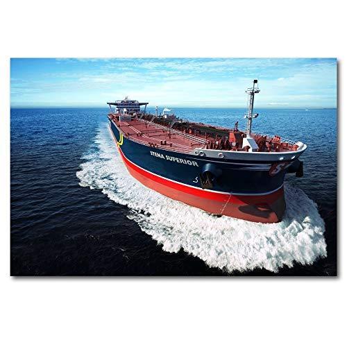 Transporte de Buques Cisterna_Puzzle Adulto 1000 Piezas_Se Puede Usar como un Juego de Rompecabezas o Pelota de estrés para Adultos_50x75cm