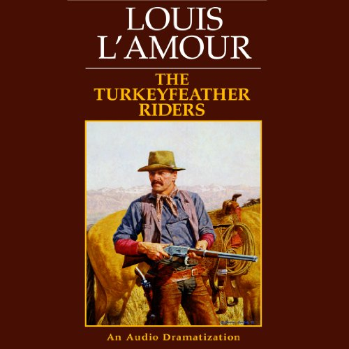The Turkeyfeather Riders audiobook cover art