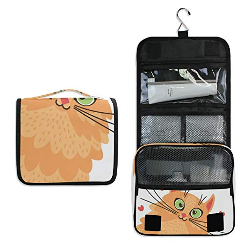 Jacksome Best Friend Toiletry Bag for Women with Hanging Hook Large Wash Bag Many Pockets Travel Set Travel Toiletry Kit Cosmetics Makeup Big Toilet Organizer Suitcase Luggage