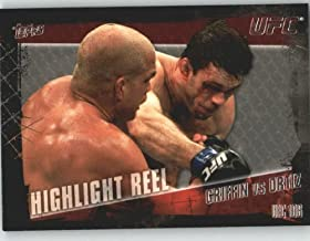 2010 Topps UFC Trading Card # 189 Forrest Griffin vs Tito Ortiz (Ultimate Fighting Championship) MMA Trading Card