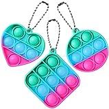 Juguete de descompresión de silicona, Dedo descomprime la burbuja, juguetes sensoriales, autismo necesidades especiales de estrés Alivio de silicona Alivio Juguetes, juguetes de compresión para niños