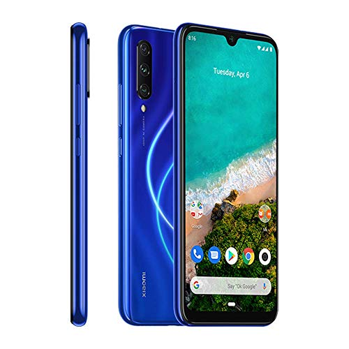 Xiaomi Mi A3 128GB + 4GB RAM, Triple Camera, 4G LTE Smartphone - International Global Version (Not just Blue)