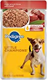 Pedigree Little Champions Meaty Ground Dinner With Beef Wet Dog Food 5.3 Ounces (Pack Of 24)
