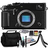 FUJIFILM X-Pro3 Mirrorless Digital Camera (Body, Black) with Case and 32GB SD