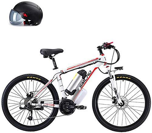 RDJM Bici electrica, 26 '' Bici de montaña Plegable eléctrico, Bicicleta eléctrica...