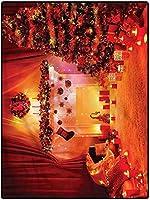カーペット 新生活 薄型 センターラグ 160*200 ノエルの新年のテーマを教えて遊ぶためのクリスマスウォッシャブルカーペットプレイカーペット 夏用 抗菌防臭滑り止め 和室