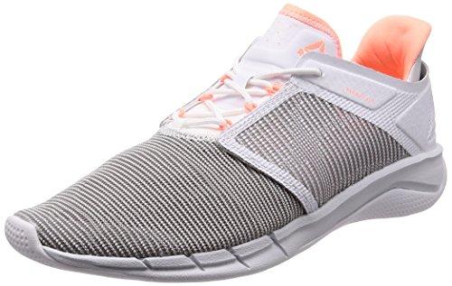 Reebok Fast Flexweave, Zapatillas de Trail Running Mujer, Multicolor (White/Spirit White/Digital Pink/Atomic R 000), 37.5 EU