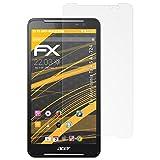 atFolix Panzerfolie kompatibel mit Acer Iconia Talk S A1-724 Schutzfolie, entspiegelnde & stoßdämpfende FX Folie (2X)