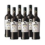 Vino Pedro Ximenez 1827 de 75 cl - D.O. Jerez - Bodegas Osborne (Pack de 6 botellas)