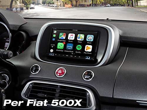 Alpine iLX-702-500X 7' dedicato Fiat 500X Dab Android Auto Apple CarPlay