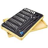 FOXPIG Destornilladores de precisión con 64 Kits Impulsor de imán, for la fijación Profesional PS4 / Ordenador/Smartphone/Laptop/Xbox/tabletas/cámara/Juguete