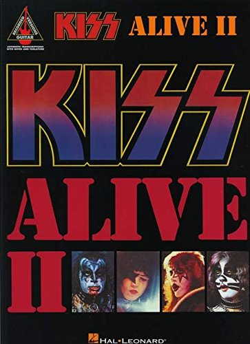 Kiss: Alive II: Noten für Gitarre (Guitar Recorded Versions)