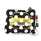 GABS Fiat 500 Male' Bustina Donna F000590ND X1295 C5001 Pois Giallo