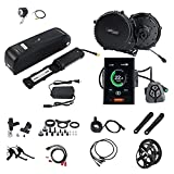 BBS02B 48V 750W Mid Drive Conversion Kit Electric Bike with LCD Display for Bafang 8fun Mid Motor Ebike Conversion Kit