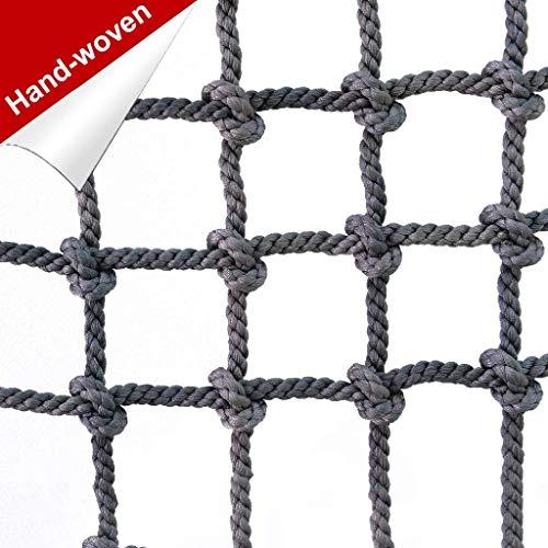 Crawling netwerk bescherming muur netwerk voor outdoor sporten, tuin, outdoor indoor decoratie Diameter 16 mm 15 cm mesh vangnet,4 * 4m