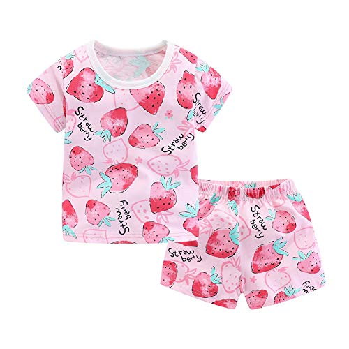 Mud Kingdom Summer Pajama Set for L…