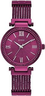 Relógio Feminino Guess Analógico 92580lpgdfa5 Roxo