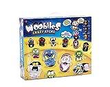 WOOBLIES Serie 1 : Arena DE Combate + 4 Figuras COLEECIONABLES + 2 Turbo LANZADORES