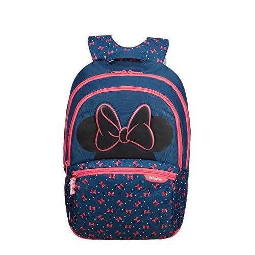 Samsonite Disney Ultimate 2.0 Backpack Medium Zainetto per Bambini, 41 cm, 18.5 liters), M, Multicolore (Minnie Neon)