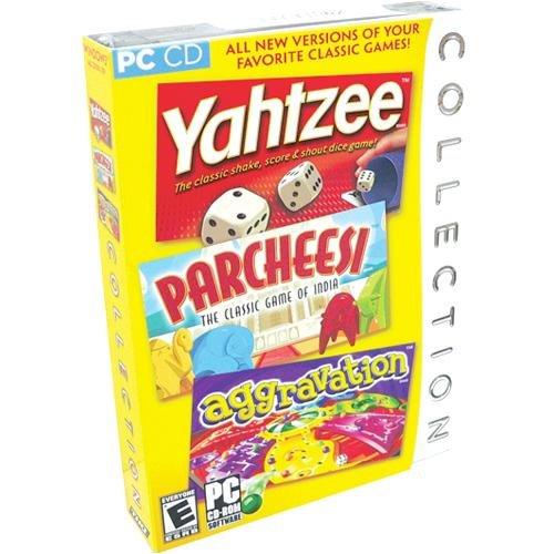 Yahtzee / Parcheesi / Aggravation Collection