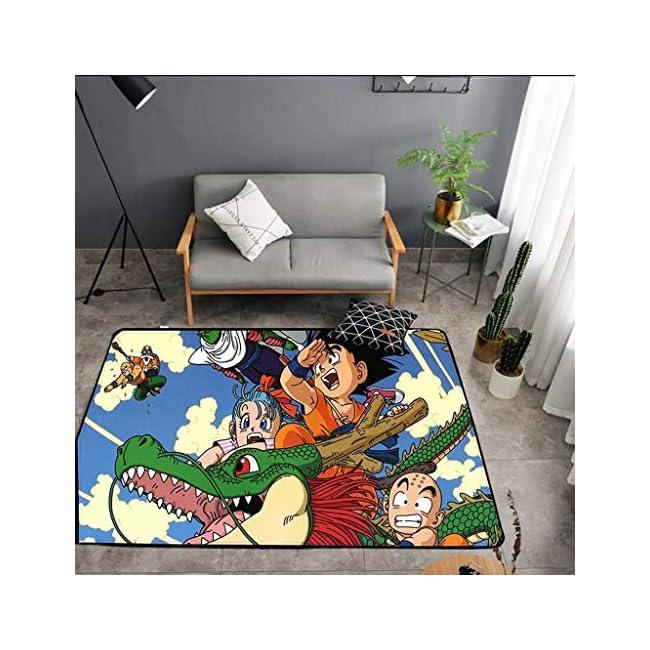 WXYXG One Piece Anime Carpet Plüsch Quadratische Matte Schlafzimmer Wohnzimmer Sofa Carpet - Multi-