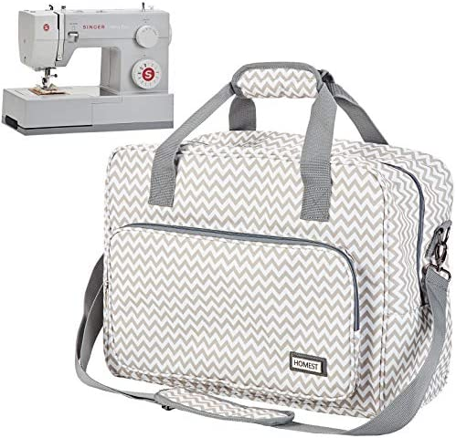 HOMEST Sewing Machine Carrying Case Universal Tote Bag with Shoulder Strap Fits Most Standard product image
