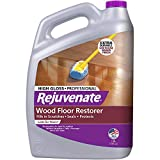 Rejuvenate Professional Wood Floor Restorer and Polish with Durable Finish Easy Mop On Application High Gloss Finish 128oz