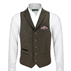 Blazer, Waistcoat and Trouser are ALL Sold Separately. Fitting Guide: Blazers are slim fit please buy one size bigger for regular fit (recommended)-Waistcoat sizes runs generous from 38 UK to 44 UK buy one size smaller (recommended) 3 Styles of Waist...