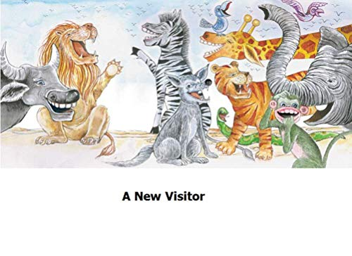 A NEW VISITER: World classic picture book recommendation (English Edition)
