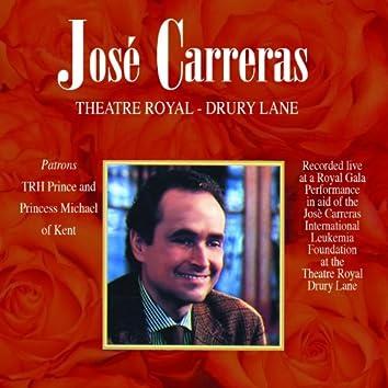 Josè Carreras: Theatre Royal - Drury Lane