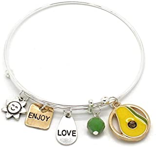 Jewelry 'Symbology' Inspirational Bracelets | Expandable Wire Charm Bracelets for Women | Gift for Women