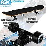 Zoom IMG-2 wellife skateboard completo per principianti