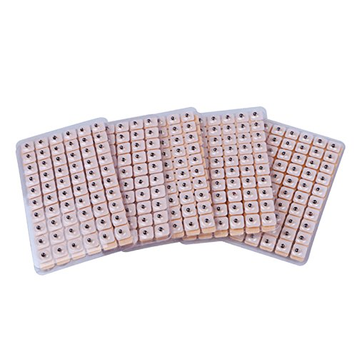 600Pcs Einweg Akupunktur Vaccaria Ohrsamen Ohrpflaster Vaccaria Gips Ohr Massage Bean Auriculotherapy