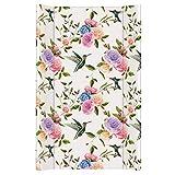 Wickelauflage Wickelunterlage Wickeltischauflage 2 Keil Feste 80x50 cm Abwaschbar - Flores 80 x 50 cm