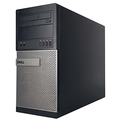 Dell Optiplex 990 Desktop Computer, i7 upto 3.8GHz CPU, 16GB DDR3 Memory, New 512GB SSD, WiFi, Windows 10 Pro (Renewed)