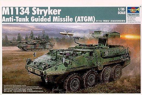 descuento de ventas en línea Trumpeter 1 35 M1134 Stryker Anti-Tank Guided Missile (ATGM) (ATGM) (ATGM) by Trumpeter  Venta en línea de descuento de fábrica