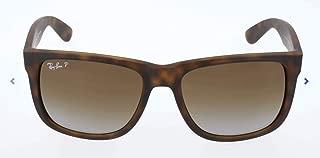 Ray-Ban RB4165 Justin Rectangular Sunglasses
