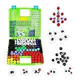 robots master 156 Atoms Estructura Set Molecular Modelo Kit Moléculas Inorgánicas Orgánicas Moléculas Educativas Juguetes Regalos Ciencia Enseñanza