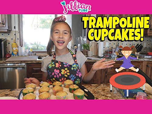 Baking Trampoline Cupcakes with Jillian!