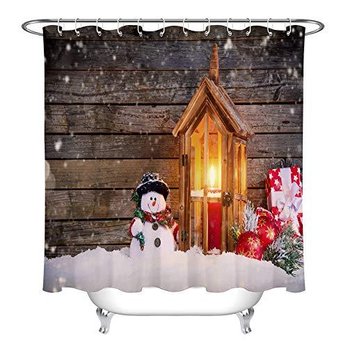 ZZZdz bougie Accesese geschenk pop van Neve douchegordijn 180 x 180 cm 12 haken gratuite decoratie voor thuis 3D HD druk gemakkelijk te reinigen accessoires voor de badkamer