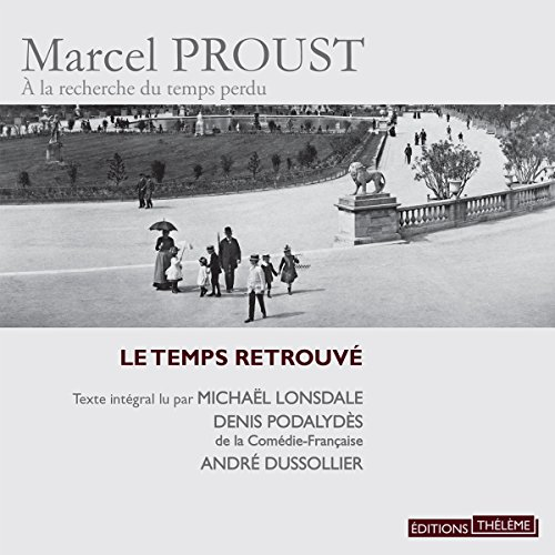 Le temps retrouvé audiobook cover art