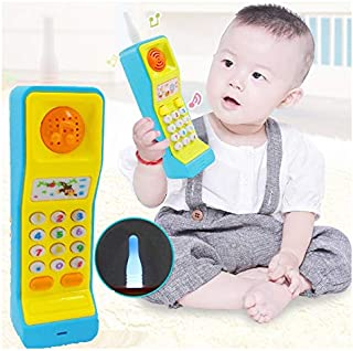 SaleOn Mobile Phone Toy Intelligent Learning Machine Study Learn Words Sing Song Plastic Hobby Intelligence Gifts Educatio...