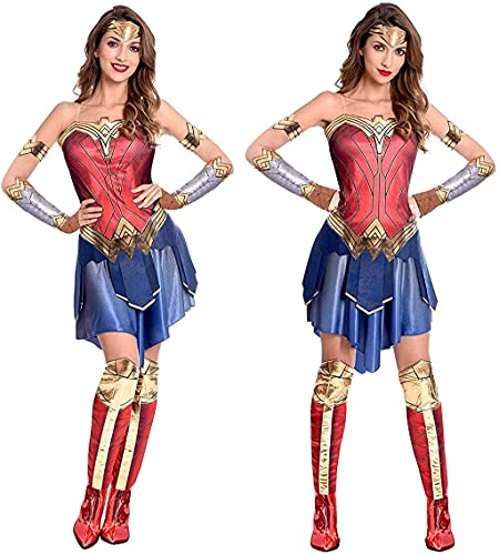 Official Wonder Woman Movie Costume for Ladies. Sizes 8 to 18