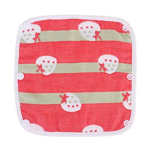 STOBOK Baumwolle Baby Lätzchen Wiederverwendbare Speichel Handtuch Schnupfen Tropft Sabber Verhinderung Lätzchen für Neugeborene