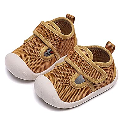 Amazon - Save 70%: DRAGONHOO Baby Hiking Sneakers   Girls and Boys Soft-Soled Breathable M…