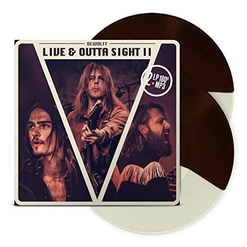 Live & Outta Sight II (Brown/Cream Split) [Vinilo]