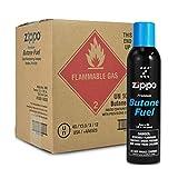 12 cans (1 case) Zippo 5.82oz Premium Butane Fuel