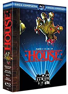 House: Ding Dong, You're Dead + House II: The Second Story + The Horror Show + House IV (DIGIPACK HOUSE I-II-III-IV -, Spanien