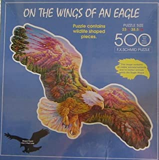 On The Wings of an Eagle 500pc. Puzzle by FX Schmid